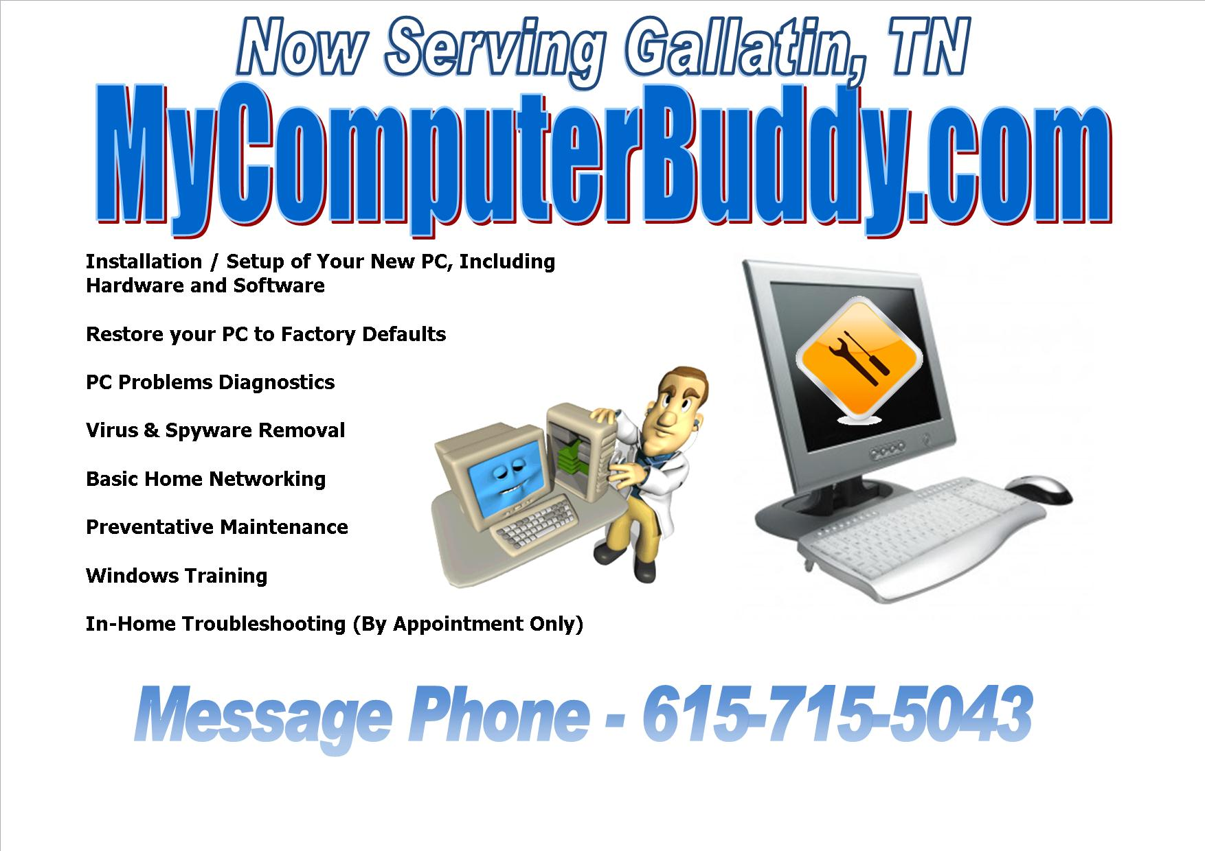MyComputerBuddy Flyer